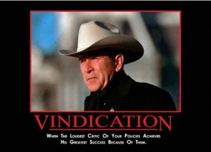George Bush - Vindication